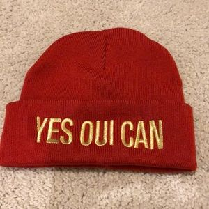 Red juicy couture skully